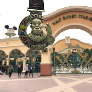 Disneyland Paris Magic Run 2018 Medaille 5K