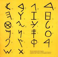 Símbolos fenicios, origen de nuestro alfabeto