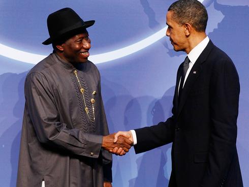 """Résultat de recherche d'images pour """"Goodluck vs Obama and françois hollande"""""""