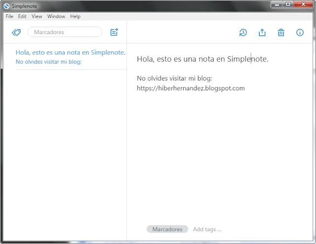 Simplenote la mejor alternativa a gratuita a Evernote - El Blog de HiiARA