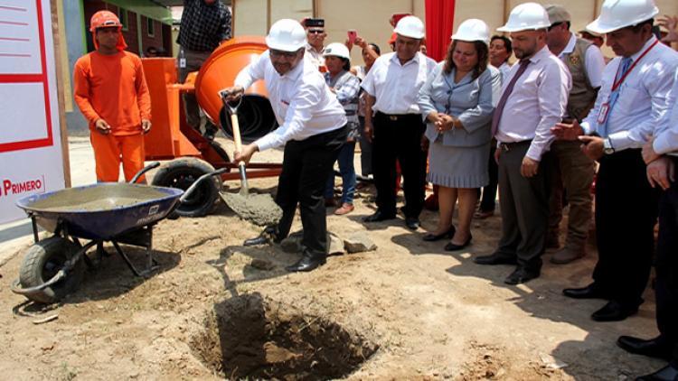 MINEDU: Inician construcción de moderno colegio en Pucusana mediante modalidad de obras por impuestos - www.minedu.gob.pe