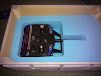 RC transmitter storage box