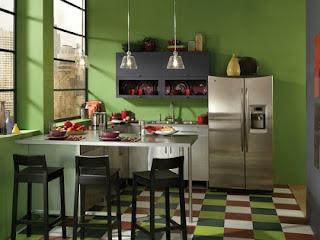 diseño cocina acogedora