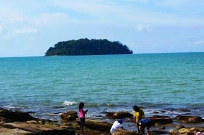 Mandalika island in Jepara