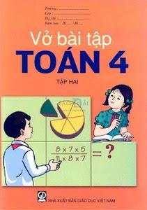 Vở bài tập Toán lớp 4: Tập 2 - Nhiều Tác Giả