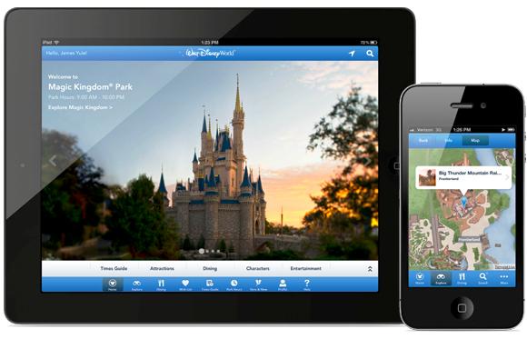 Aplicativo Disney Experience Orlando
