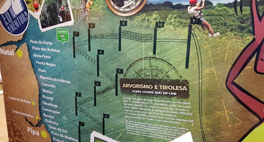 Arvorismo e Tirolesa em Pipa Rio Grande do Norte