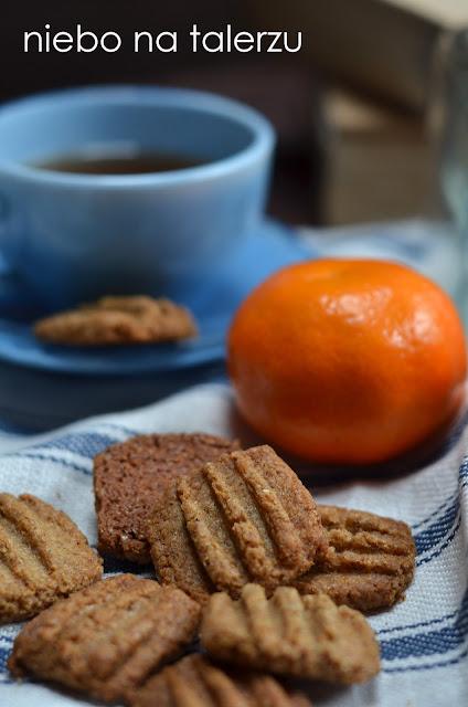 Szybkie ciasteczka z żytniej mąki