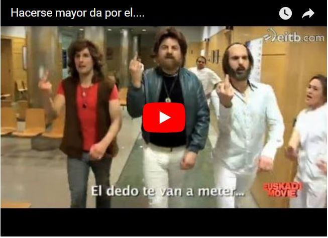 El vídeo del Tacto rectal que me alegró el día