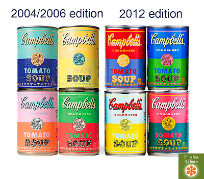Warhol-Inspired Campbell's Soup Cans