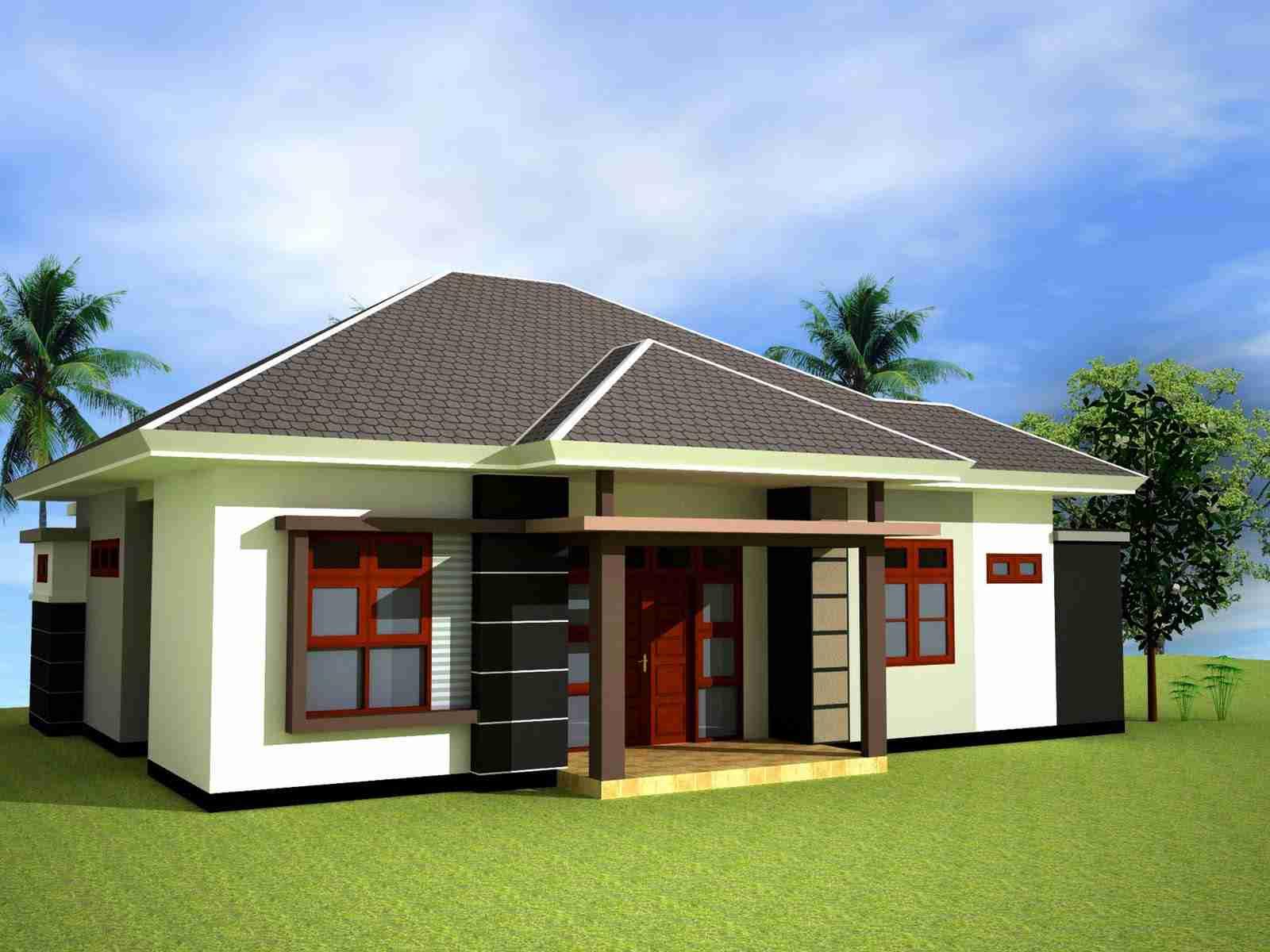 Desain Rumah Minimalis dengan Halaman Luas