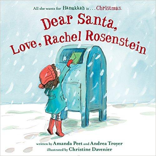 Kiss The Book Dear Santa Love Rachel Rosenstein By Peet And