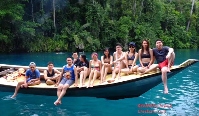 Traveling seru ke Derawan Island , Maldivesnya Indonesia