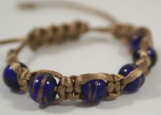 Shambhala bracelet (glass) for 7000 Bracelets Blog Hop :: All the Pretty Things