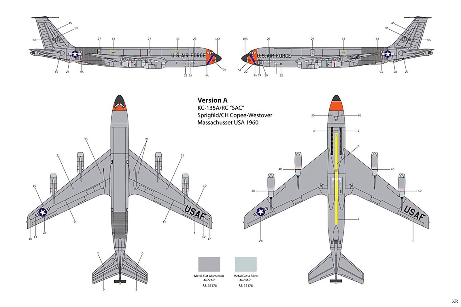 Kc 135 Stratotanker Diagram