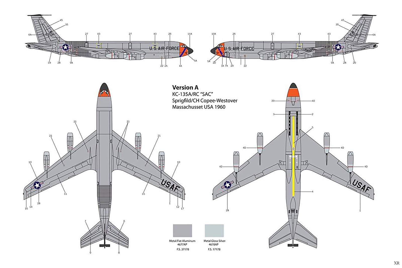 Kc 135 Stratotanker Diagram