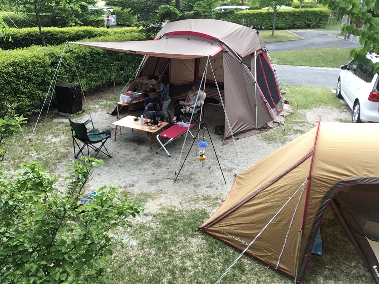 キャンプ 場 天気 オート 星 うる ぎ 森 の