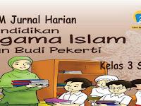 KKM dan Jurnal Harian PAI BP Kelas 3 Kurikulum 2013 Revisi 2018