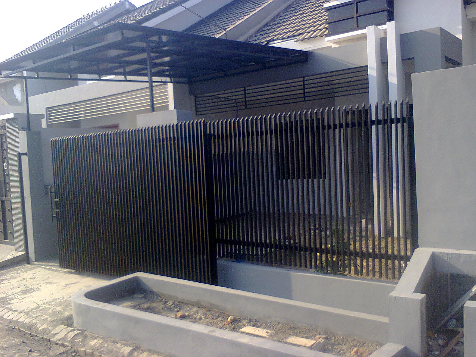 Harga Pagar Rumah Minimalis Surabaya Expo Desain Rumah