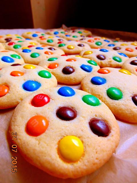 Ciasteczka z M&M'sami