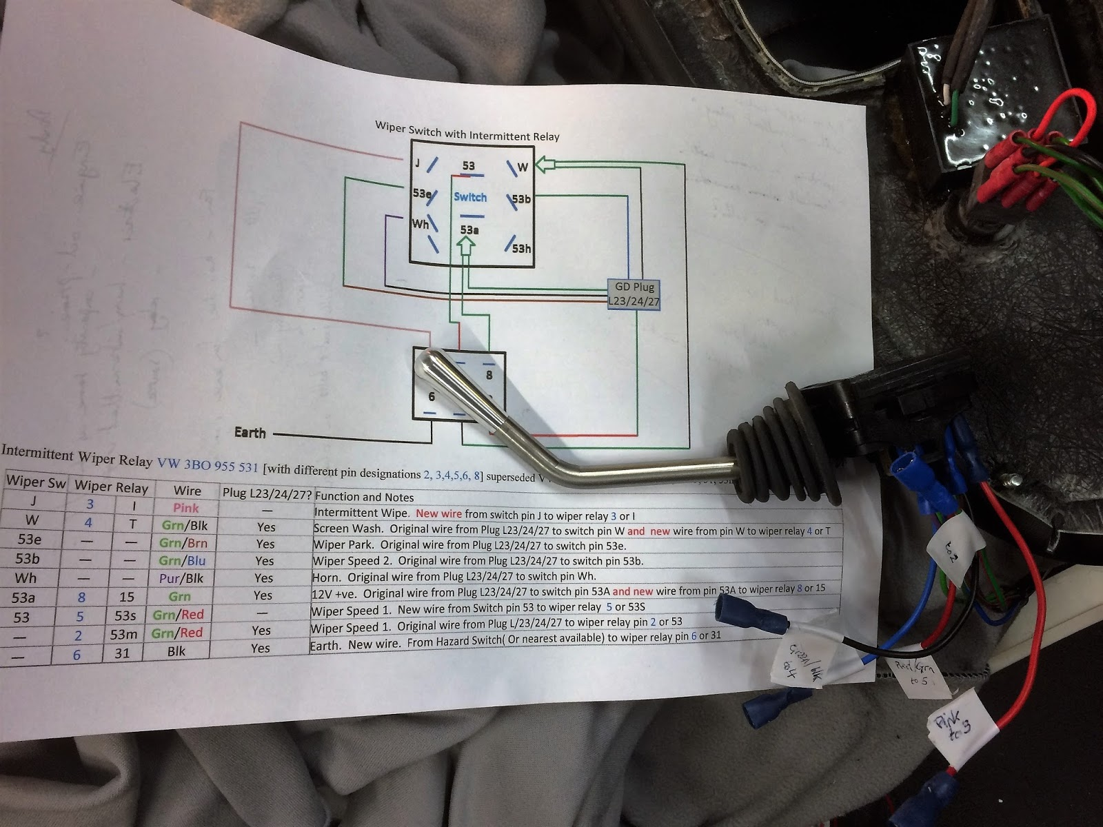 How to build a gardner douglas 427 ac cobra replica classic sports changes made to wiring on column switch asfbconference2016 Gallery