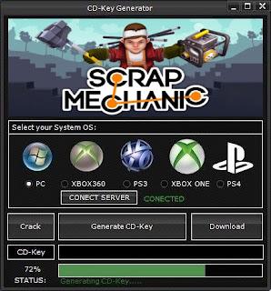 Scrap Mechanic Key Generator (Free CD Key)