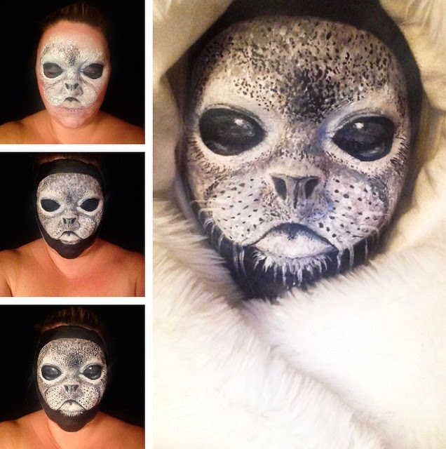 12-Seal-Pup-Maria-Malone-Guerbaa-Face-Painting-Artist-Morphs-like-a-Chameleon-Shapeshifter-www-designstack-co