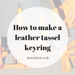 How to Make a Leather Tassel Keyring with Rosanna Clare