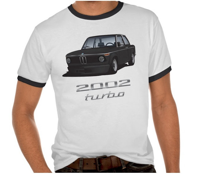 BMW (e20) 2002 turbo t-shirt
