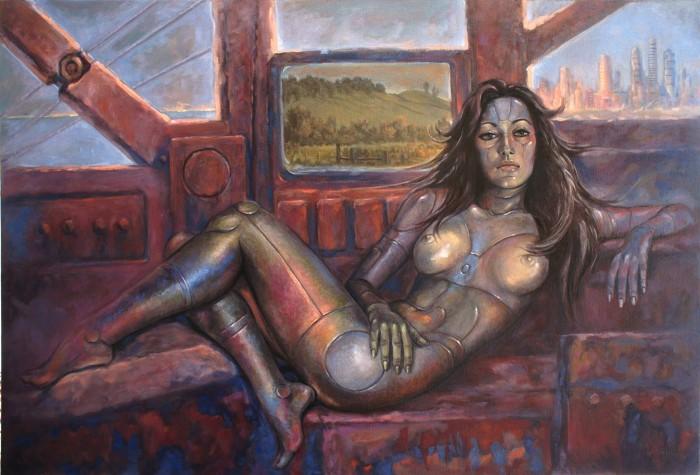Американский художник. Daniel Miller