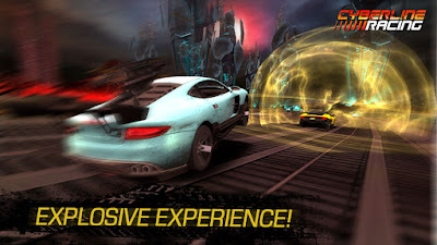 Cyberline Racing v1.0.9888 Mod Apk+Data (Unlimited Money)