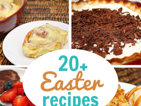 Easter Eats Round Up!