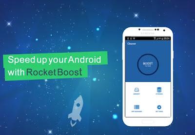Rocket Boost - Speed up Phone