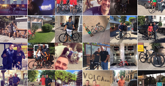 Tribike, carbon road bike and wetsuit rentals at IronMan races all around Europe.