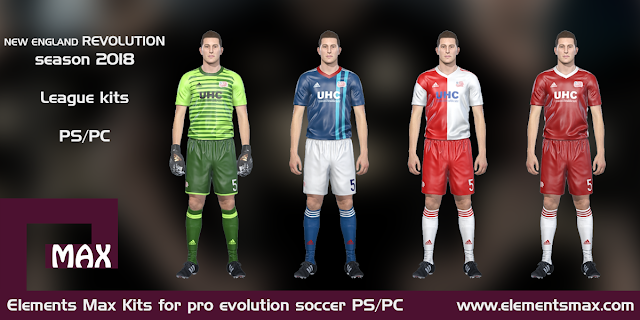 New England Revolution PES kits