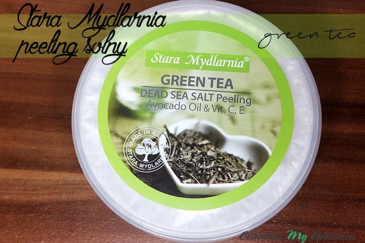 STARA MYDLARNIA | Peeling solny zielona herbata
