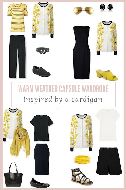 How to Build a Warm-Weather Capsule Wardrobe - The Dandelion Cardigan