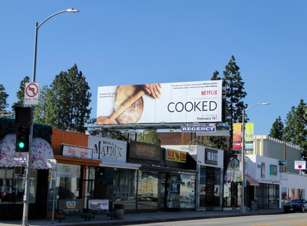 Cooked series premiere billboard