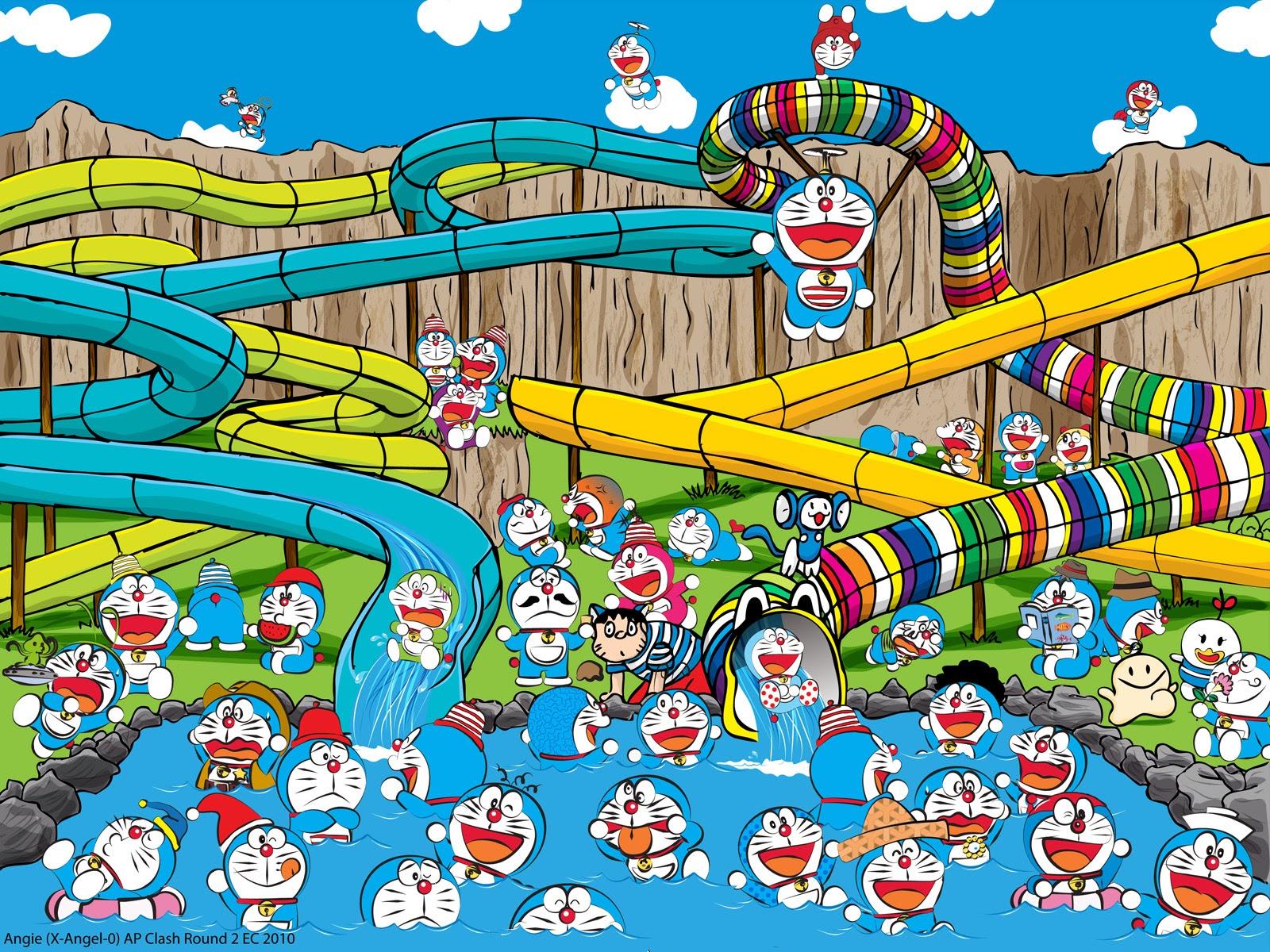 Unduh 1070+ Wallpaper Doraemon Cantik Foto Paling Keren