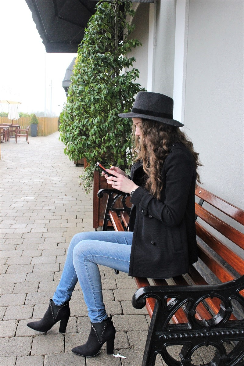 kildare village, hat, ootd, outfit,
