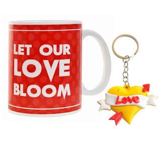 Valentine Gift House Valentine Gifts Love Key Chain & Coffee Mugs Valentine Gift For Boy Friend Valentine Gift For Girlfriend