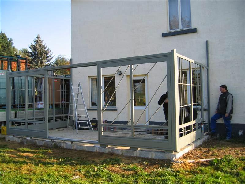 sous le ciel ardennais construction de la v randa 2. Black Bedroom Furniture Sets. Home Design Ideas
