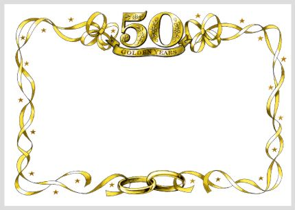 Wedding Anniversary 50th Wedding Anniversary