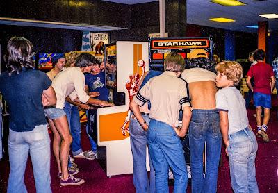 Fotografías de los salones recreativos de los 80
