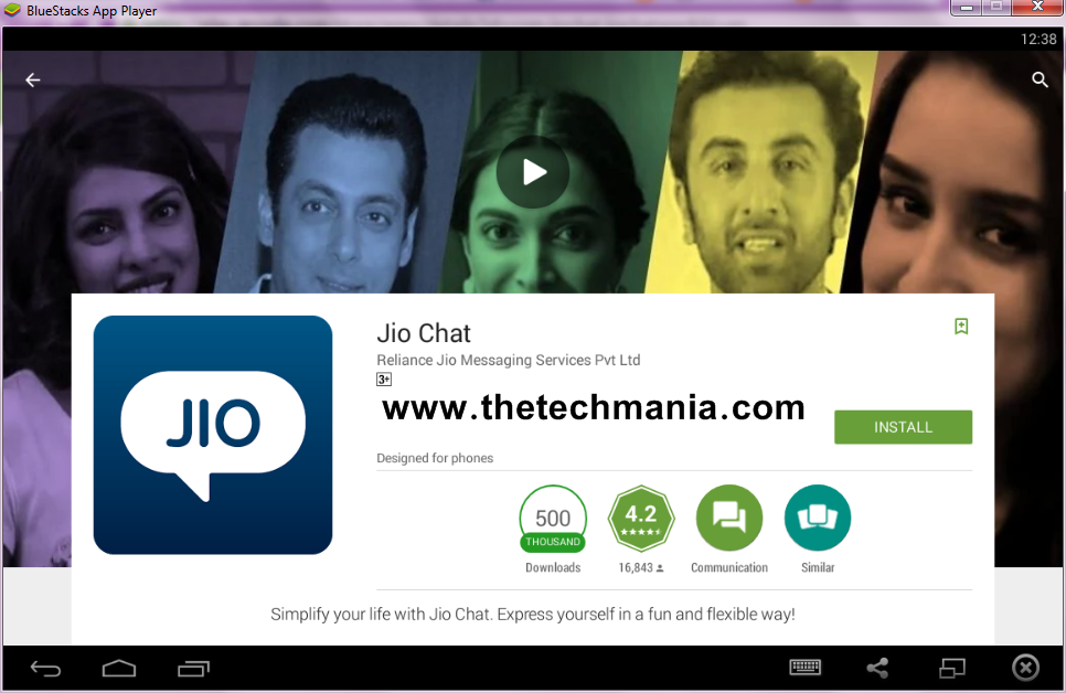 Download Reliance Jio Chat For PC/Laptop Windows XP 7 8 8 1 10 And Mac