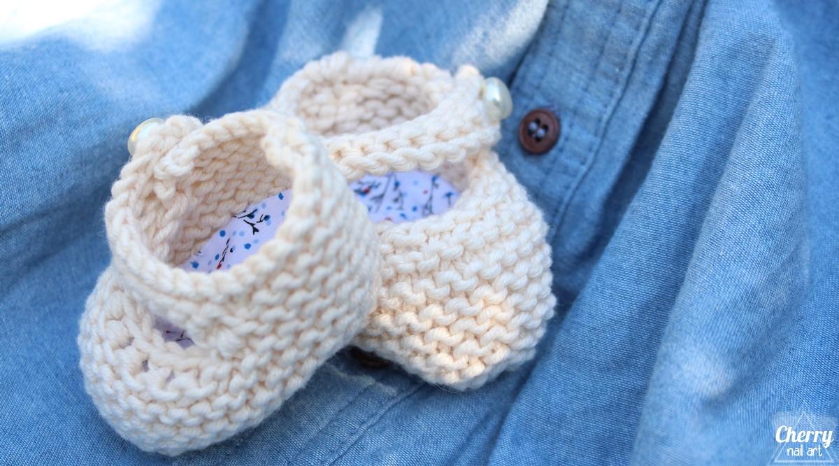 tricot-chaussons-bébé-knitting-baby