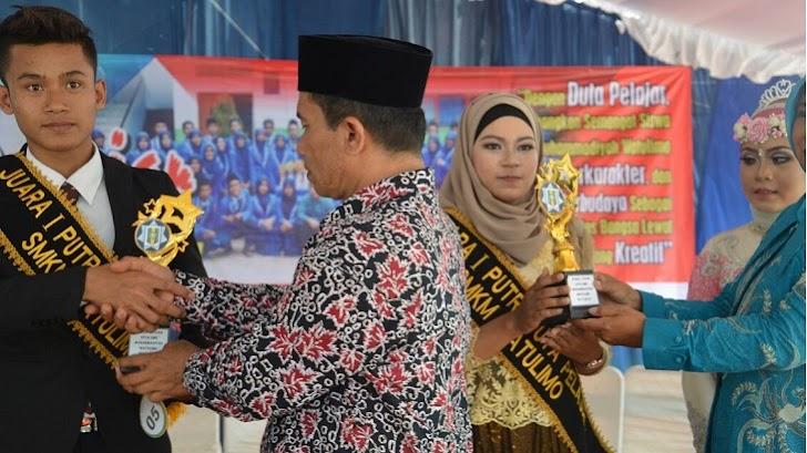 Saring Kader Kreatif dan Berkarakter SMKM Watulimo Gelar Pemilihan Duta Pelajar 2017