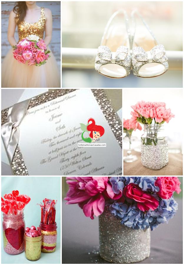 Casamento com Glitter