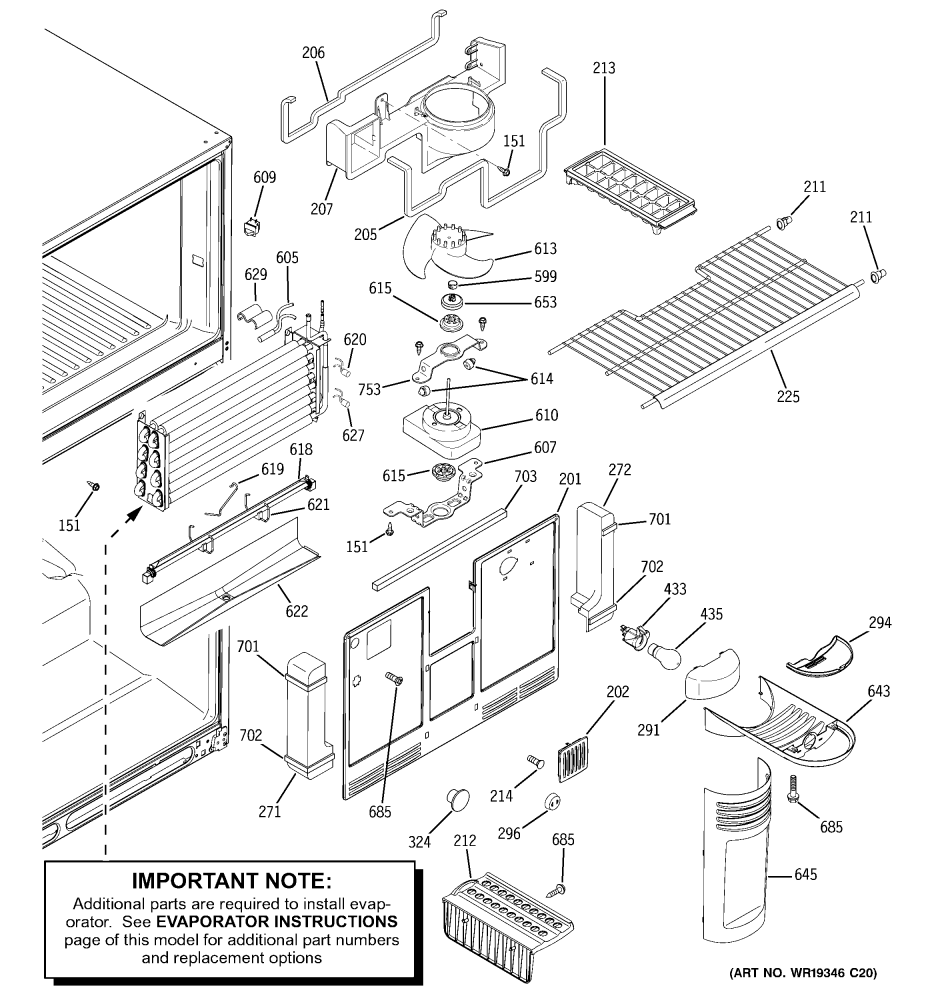 Top 20 GE GTS22KBP Top Freezer Refrigerator Questions