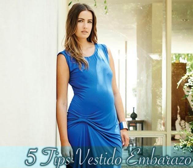 bb15abe14e 5 Tips para escoger el Vestido Ideal para una Embarazada - Beverly